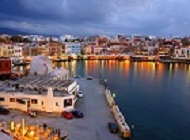 The old port of Chania, Crete