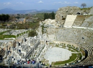 Ephesus theater from above