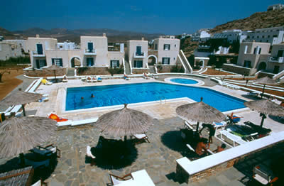 Yialos Beach Hotel, Ios