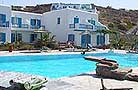 Lady Anna Hotel, on Platis Yialos beach, Mykonos.  Cat A'