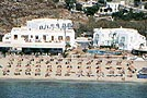 Mykonos Palace Hotel, on Platis Yialos beach, Mykonos.  Cat A'