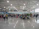The concourse of the new Athens International Airport