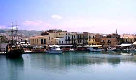 Picture of Rethymno port