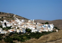 Dryopida village in Kythnos