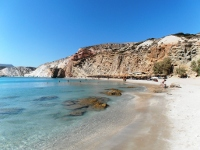 Firiplaka beach on Milos