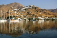 Chora (Serifos town) view from the port