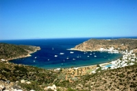 Vathi bay, Sifnos, Cyclades, Greece