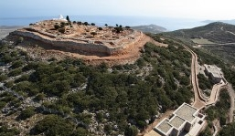 Myceanian Acropolis At Aghios Andreas, the most important archaeological site on the Island of Sifnos